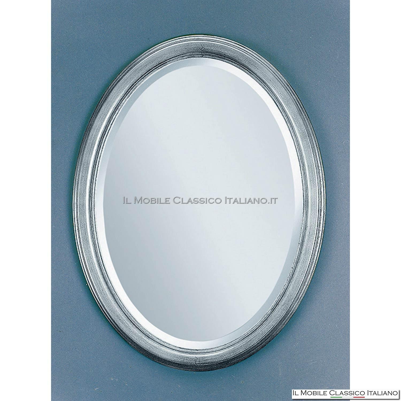 Specchi ovali e specchi rotondi   mobili classici italiani   il ...