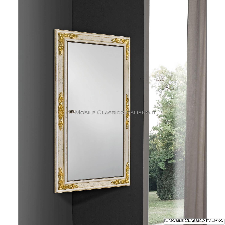Specchi con cornice decorata fai da te - Specchio con tv ...