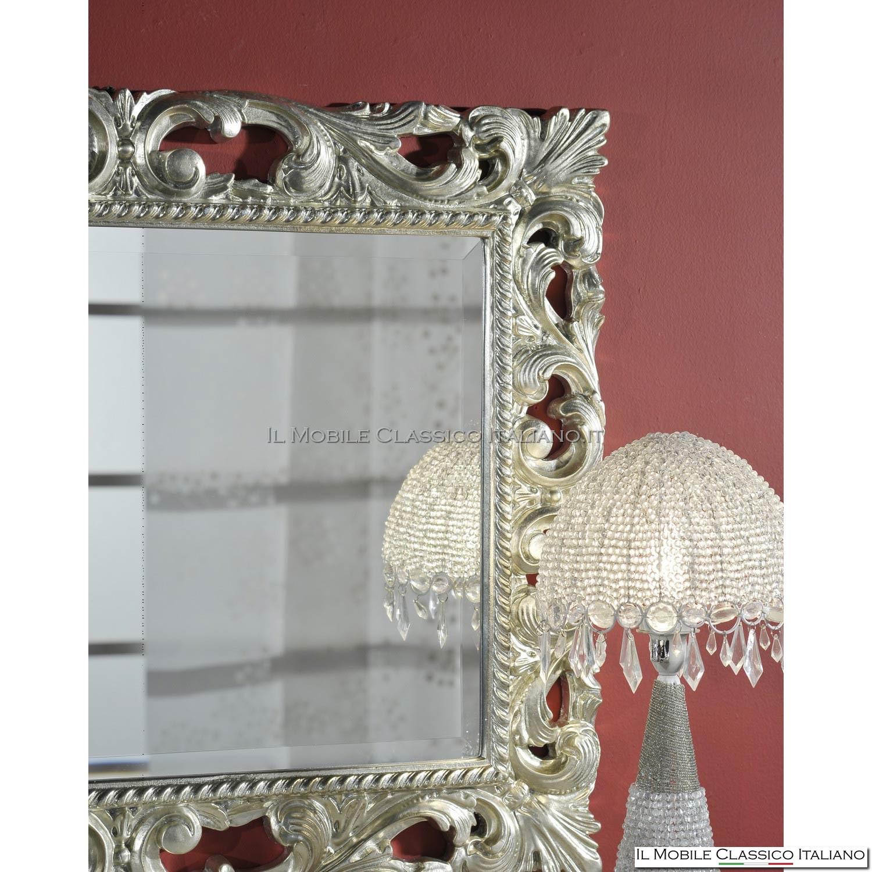 Specchio con cornice barocca 71885 (94x94)  eBay