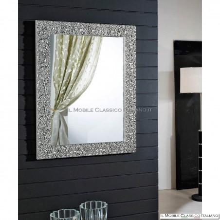 Specchio elegante rettangolare