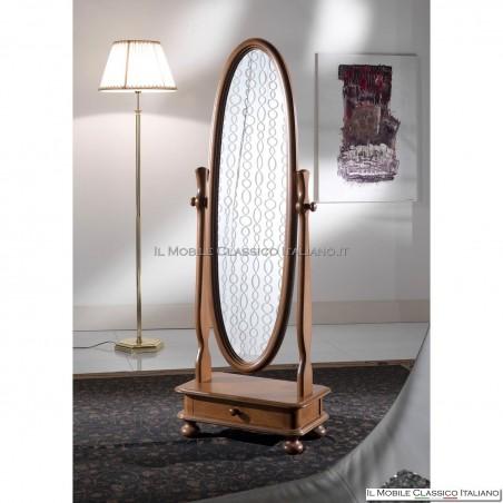 Specchiera specchio ovale cod. 82460