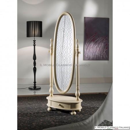 Specchiera specchio ovale cod. 82454