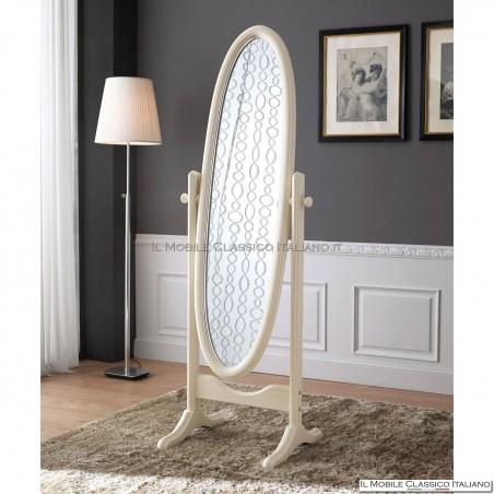 Specchiera specchio ovale cod. 80162