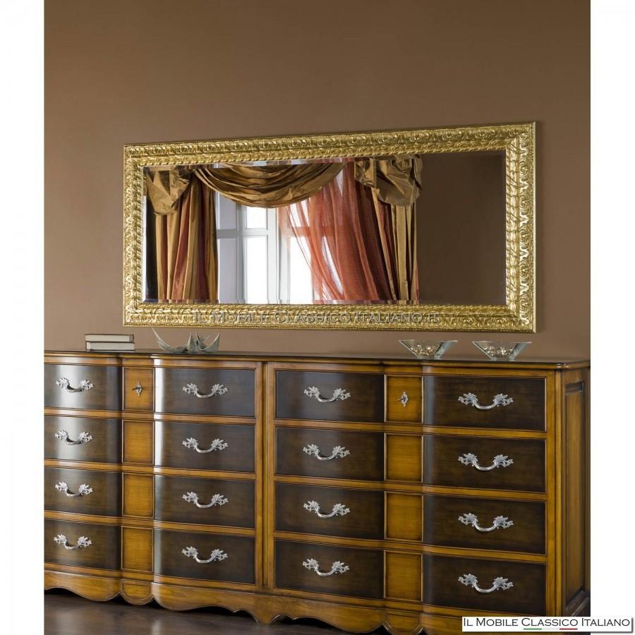 Specchiera specchio rettangolare cod 920093 for Specchi barocchi
