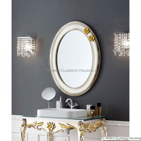 Specchio ovale liscio