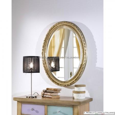 Specchiera specchio ovale cod. 71906
