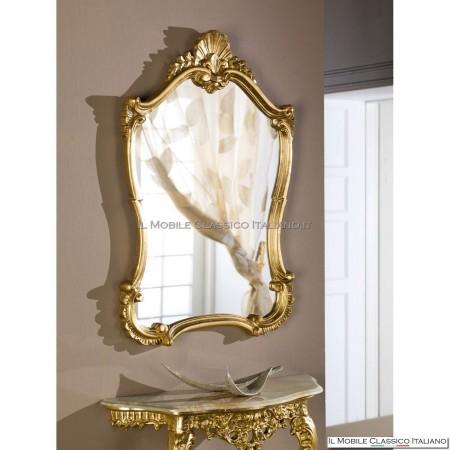 Specchio barocco classico dorato