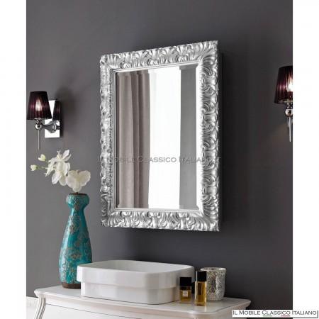 Specchiera specchio rettangolare con contenitore cod. 70684V