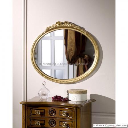 Specchiera specchio ovale cod. 70652