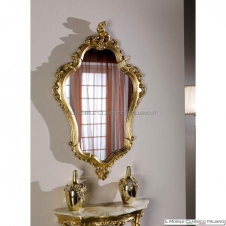 Specchiera specchio ovale cod. 706001