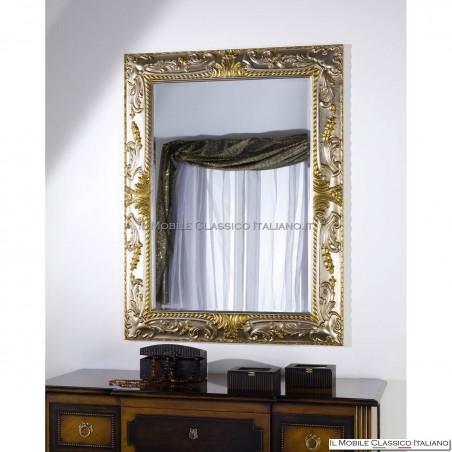 Specchiera specchio rettangolare cod. 70575 (126x96)