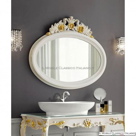 Specchiera specchio ovale cod. 70267