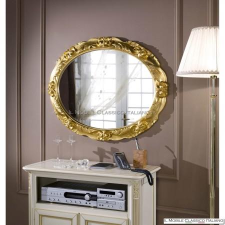 Specchiera specchio ovale cod. 701984