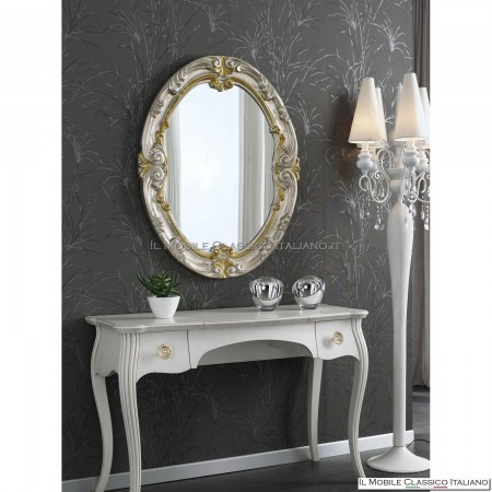 Specchiera specchio ovale cod. 70159