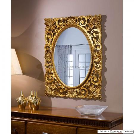 Specchiera specchio rettangolare cod. 70156