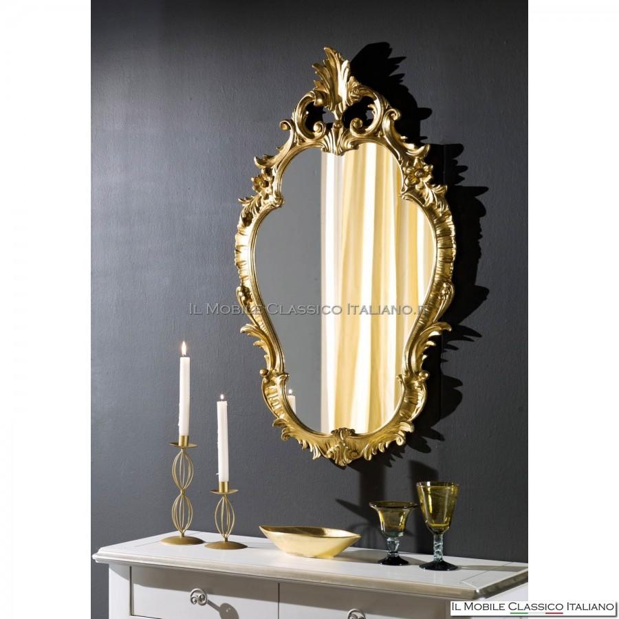 Specchiera arredo barocco specchio barocco mobili - Specchi classici ...