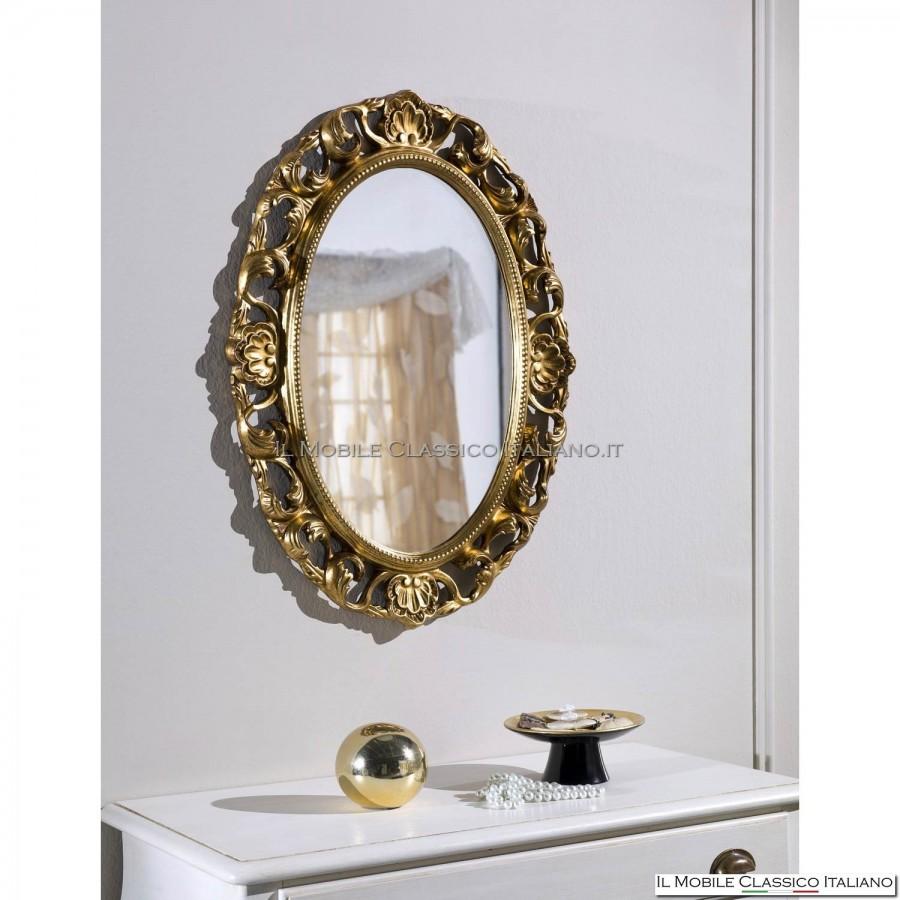 Specchio barocco camera da letto specchiera classica for Mobili classici italiani