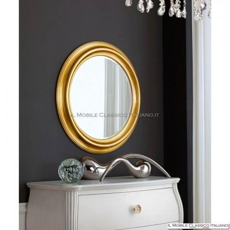 Specchio moderno rotondo da camera 70049 (78)