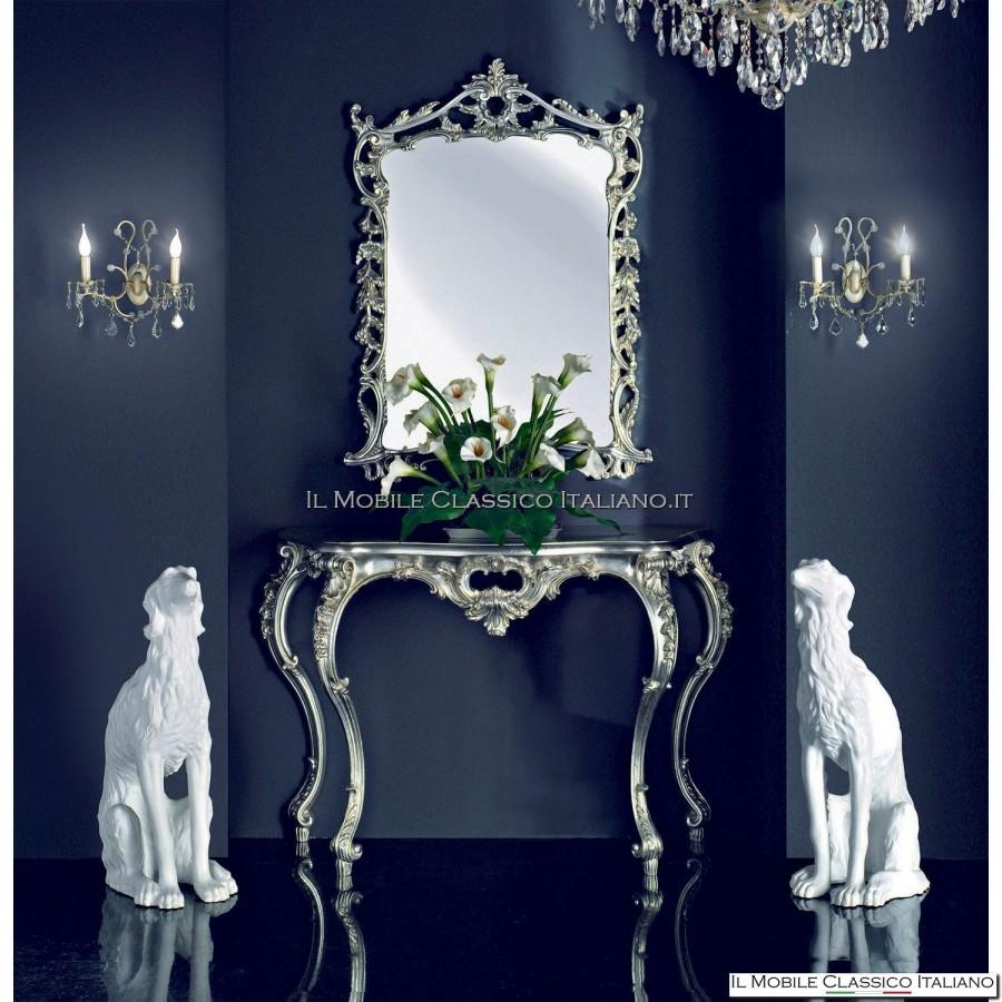 Cornice barocca specchio barocco mobili classici - Specchi classici ...