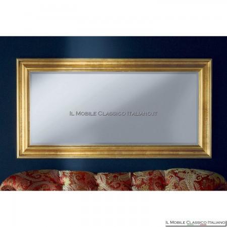 Specchiera specchio barocco rettangolare cornice intagliata cod. 1070