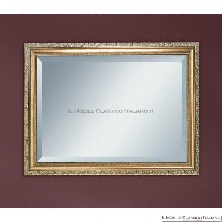 Specchiera rettangolare decorata