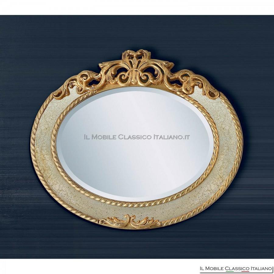 Specchiera bagno specchio bagno specchiera classica - Specchio ovale bagno ...