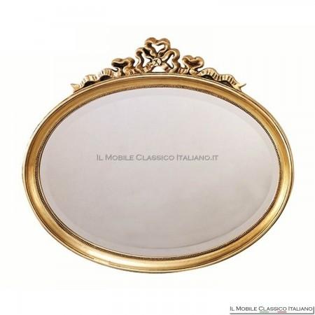 Specchio bagno ovale - specchiera ovale da bagno classica