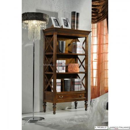 Libreria 1 cassetto con crociere 312FR
