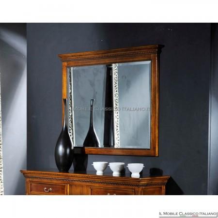 Specchio camera in legno