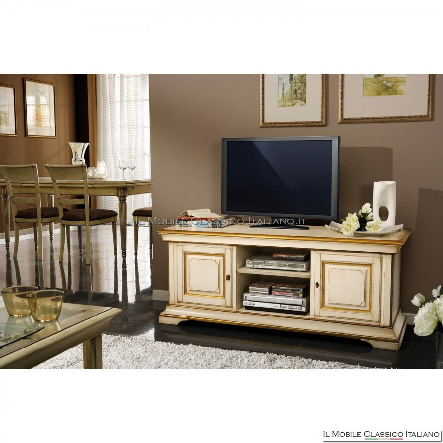 Porta tv classico economico prezzo basso legno massello - Porta tv classico ...