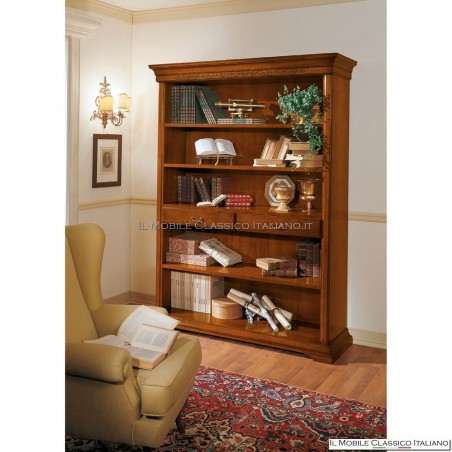 Libreria, parete attrezzata liscia 0794