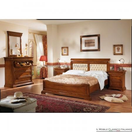 Specchio da camera da letto intagliato - Mobili Classici Italiani