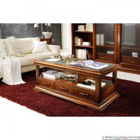 Tavolino salotto classico