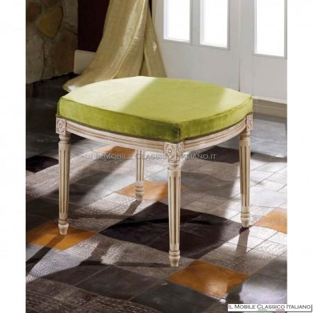 Pouf in legno classico - Arredamento classico