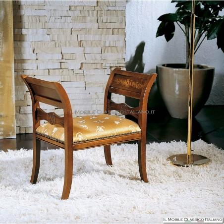 Panchetta imbottita in legno massello art. 122