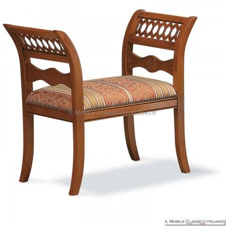 Panchetta imbottita in legno massello art. 120