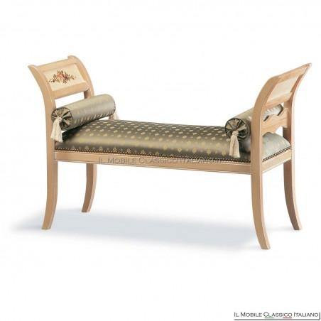 Panchetta imbottita in legno massello art. 128