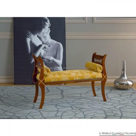 Panchetta imbottita in legno massello art. 163