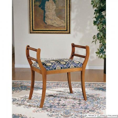Panchetta imbottita in legno massello art. 181