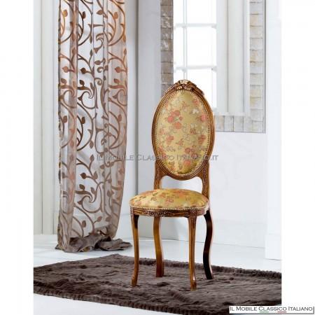 sedia classica imbottita