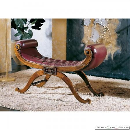 Panchetta imbottita in legno massello art. 203