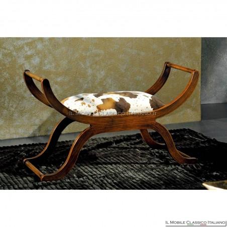Panchetta imbottita in legno massello art. 216