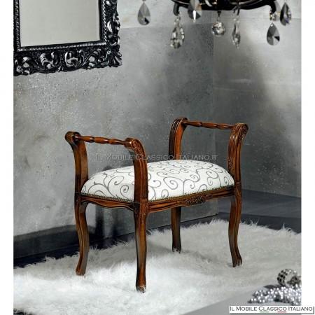 Panchetta imbottita in legno massello art. 219