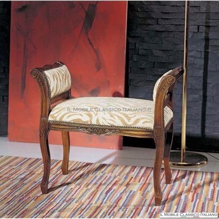 Panchetta imbottita in legno massello art. 214