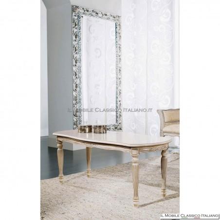 Tavolino ovale da salotto in legno art. 256