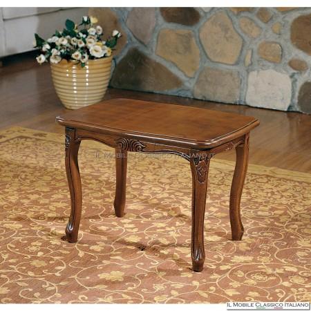 Tavolino da salotto classico in legno