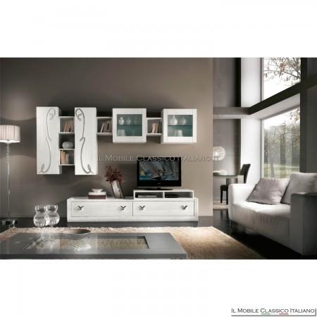 Parete attrezzata, porta tv, lcd, plasma, soggiorno art. 4015