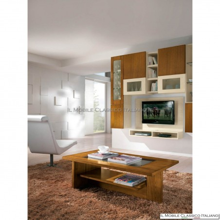 Tavolino da salotto moderno in frassino