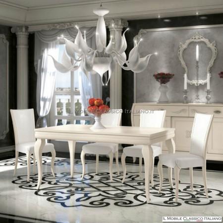 Tavolo rettangolare allungabile art. 4302