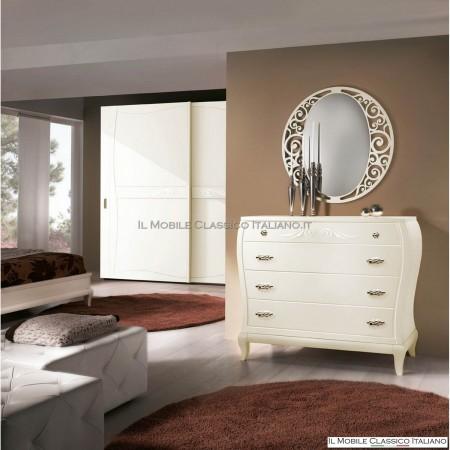 Specchiera traforata ovale art. 4126